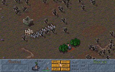 Men kriging løses på en helt annen måte her. Bilde: Mobygames.