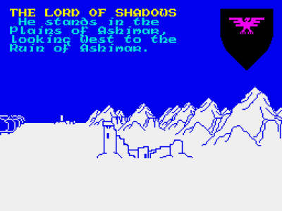 The Lords of Midnight. Bilde: Mobygames.