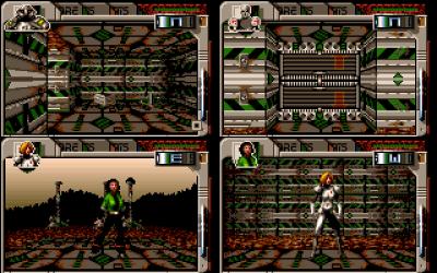 PC-versjonen har litt mer fargerike figurer (men kraftfeltene er mindre fargerike igjen).