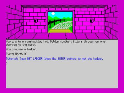 Spillet ser primitivt ut, men det kan fortsatt være artig når man kommer inn i riktig modus.