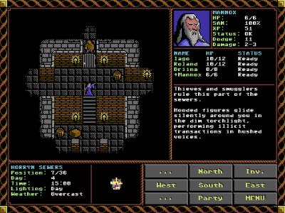Som i Ultima-spillene får du utforske individuelle lokasjoner i detalj.