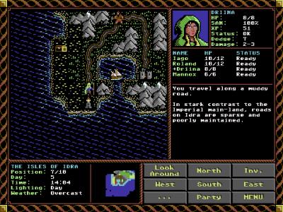 Alle som har spilt et tidlig Ultima-spill bør kjenne igjen grafikkstilen.