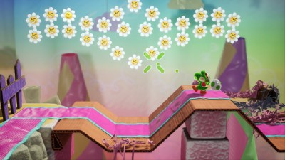 Yoshi's Crafted World.