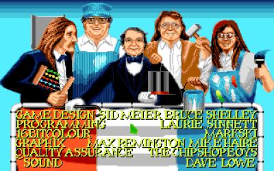 Amiga-versjonen fikk noen ekstra fjes.