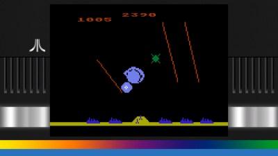 Missile Command på Atari 5200.