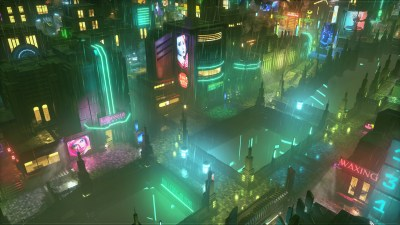 Cyberpunk-taktikk i Satellite Reign.