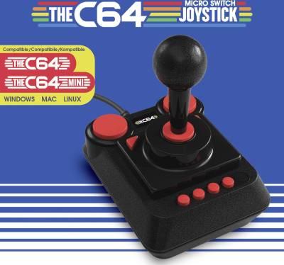 Kjøper du en ny TheC64, får du én joystick inkludert. Men de selges også separat.