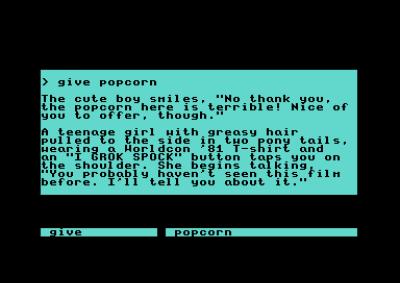 Noen sekvenser er annerledes, avhengig av spillfigurens kjønn.