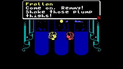 Jeg tipper 90% av de som har spilt gjennom Princess Remedy har hatt Frallon som fast partner.