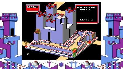 Crystal Castles hadde imponerende og kule brett.