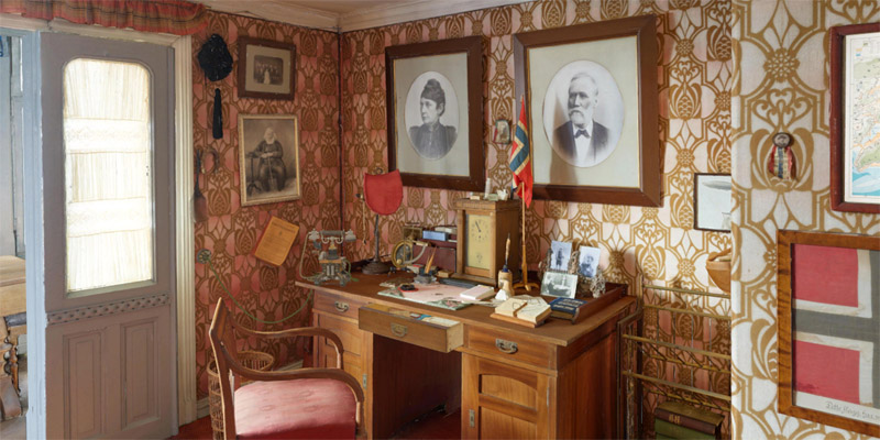 roald amundsen's house