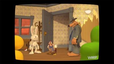 En av gåtene gir Sam og Max hovedrollene i et TV-show.