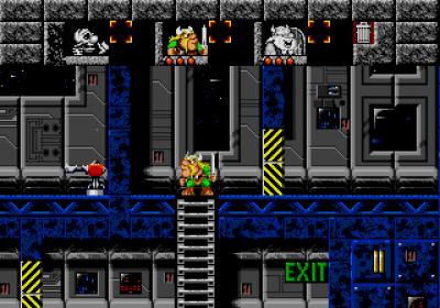 De første nivåene finner sted i et romskip.