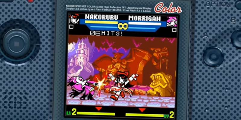 neogeo pocket color snk vs capcom