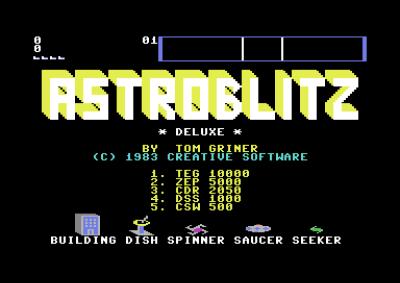 Astroblitz Deluxe. Vet ikke om det noengang eksisterte en ordinær versjon.