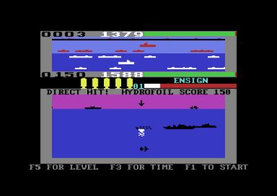 Sjøkamp.