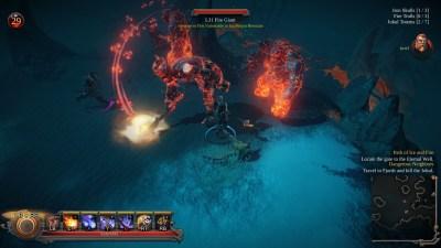 Spillet har flerspiller, også. Hvert brett kalles et «raid», så det er vel primært ment for flere.