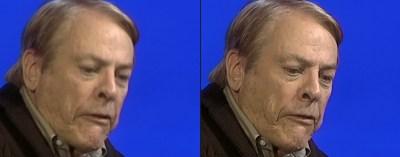 En oppskalert Kevin McCarthy (skuespilleren, ikke politikeren).