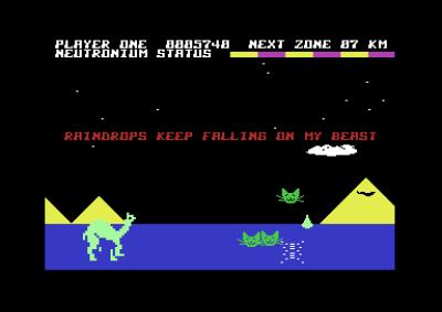 Revenge of the Mutant Camels er et ... merkelig spill.