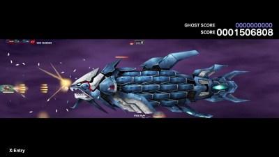 Spillet har et futuristisk undervannstema. Offisielt skjermbilde.