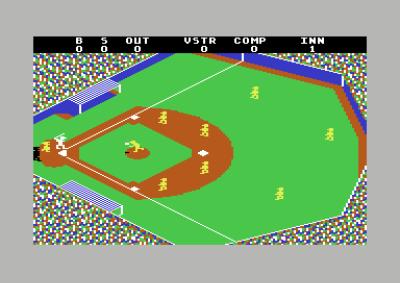 Grafikken er enkel, men husk hvordan bildekvaliteten var på et typisk fjernsynsapparat i 1983.