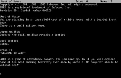 I starten var eventyrspill fokusert på skattejakt.
