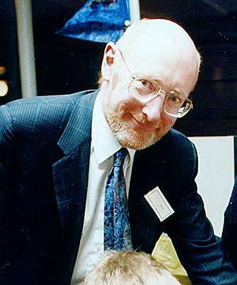 Clive Sinclair i 1982. Bilde: Public Domain.