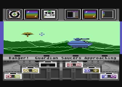 Koronis Rift på Atari 8-bit. Bilde: Mobygames.