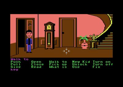 Maniac Mansion debuterte på Commodore 64 og Apple II.