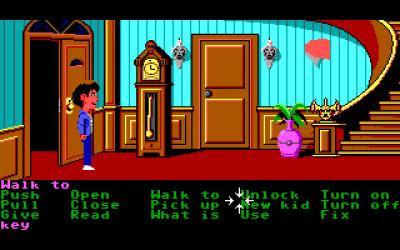 Maniac Mansion var spillet som introduserte SCUMM-motoren.