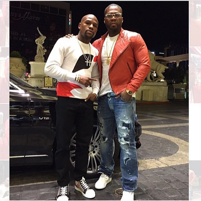 50 Cent and Floyd Mayweather Bring The Money Team Back