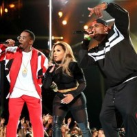Diddy Brings The Bad Boy Family Together At 2015 BET Awards, But He Takes A Fall