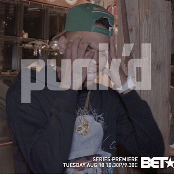 BET's 'Punk'd' Premiere Gets Chris Brown & K. Michelle Good