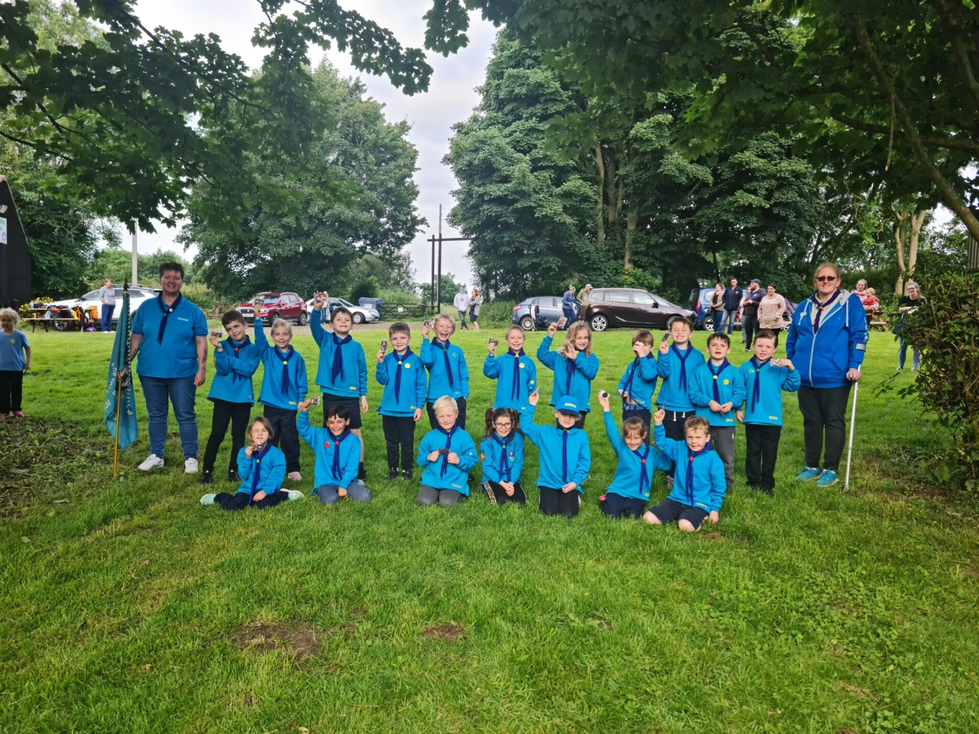 Beaver Scout section sets new record