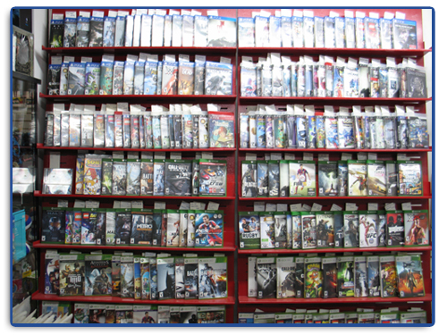 Video Games at Spin-it Records & Video