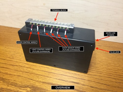 small resolution of fig 1 external overview of the project with the lid to the project box closed