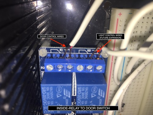 small resolution of 9 connect the relay to the terminal block providing external access to the control wires