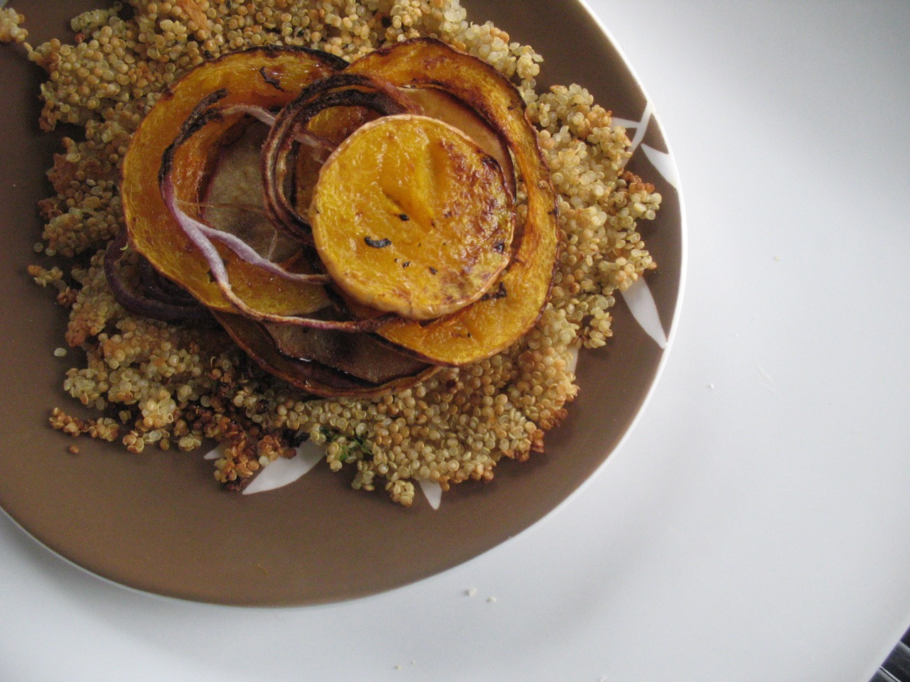 Roasted Quinoa Pancake by Angela Roberts