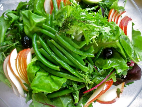 Green Beans Salad with Pears