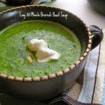 Broccoli Basil Soup