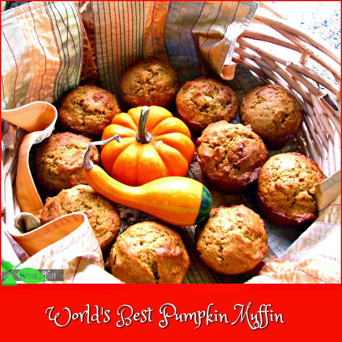 Pumpkin Muffin Facebook by Spinach Tiger