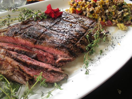Flank Steak by Angela Roberts