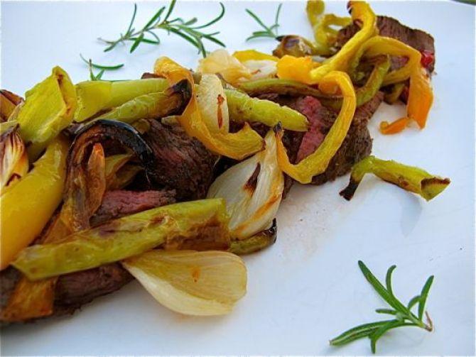Pepper Steak by Angela Roberts