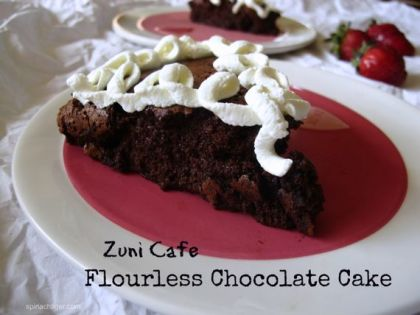 Flourless Chocolate Cake from the Zuni Cafe by Angela Roberts