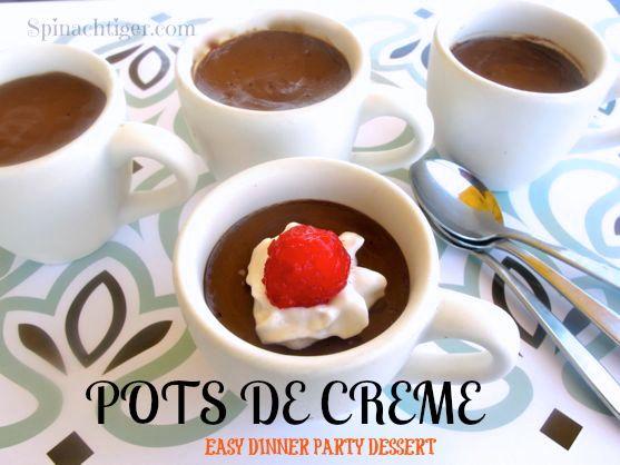 Chocolate Pots de Creme by Angela Roberts