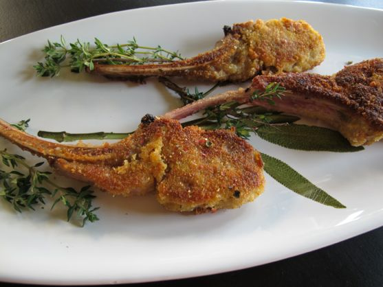 Easy Lamb Recipes: Parmesan Lamb Chops