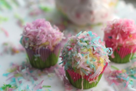 Easter Coconut Cupcake