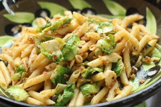 Penne with Brussels Sprouts - Version 2