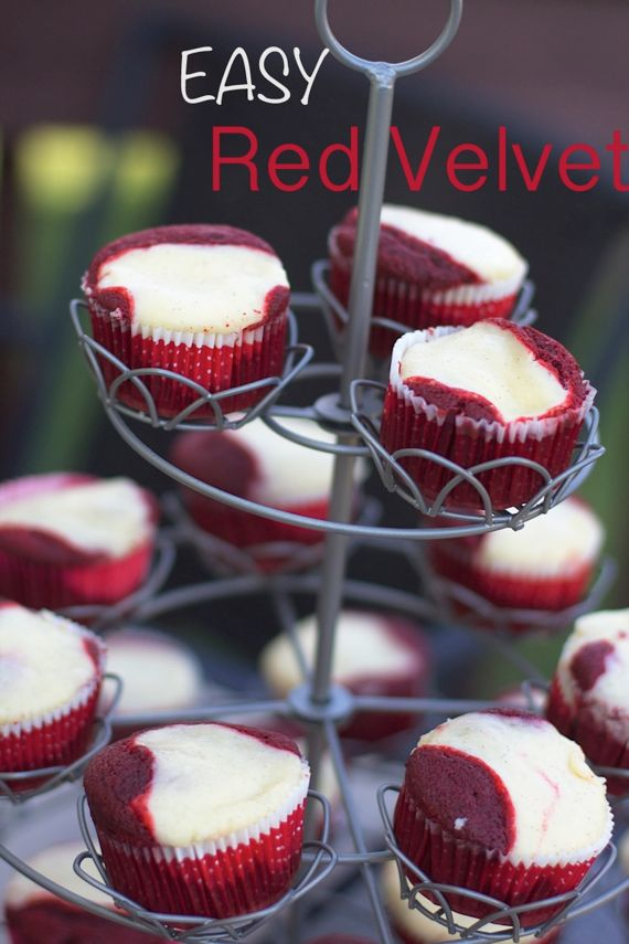 Red Velvet Cheesecake Cupcakes by Angela Roberts