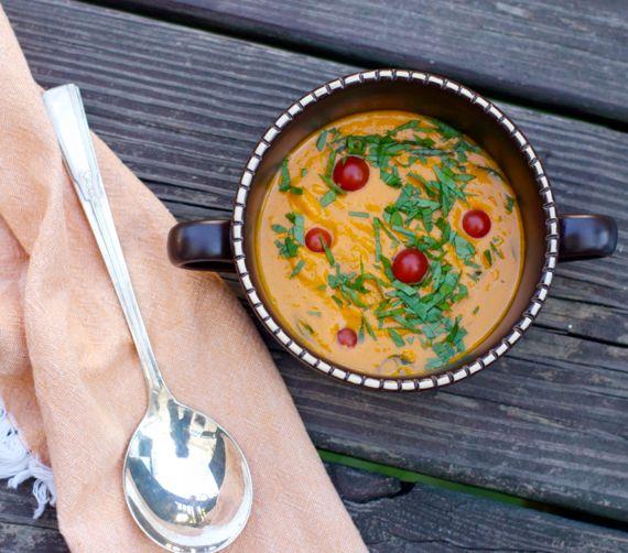 Creamy Garden Tomato Soup by Angela Roberts